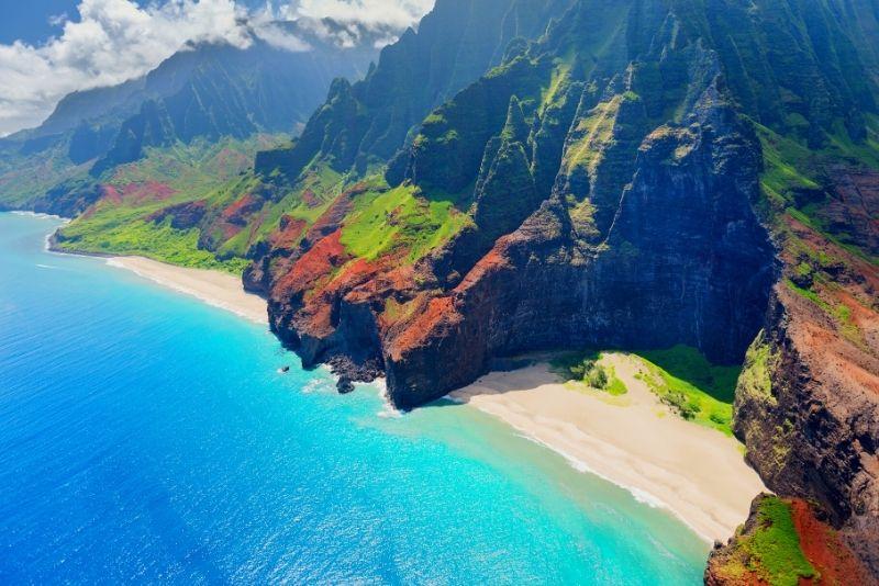 Hawaii islands in the USA
