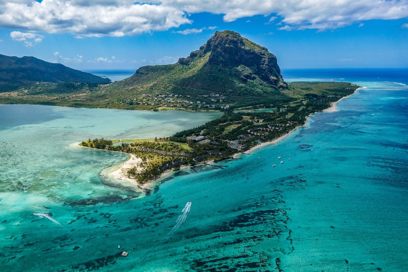 Mauritius island - paradise islands you should visit in 2018