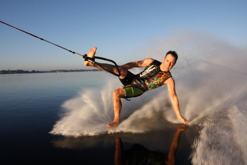 barefoot water skiing - water sports