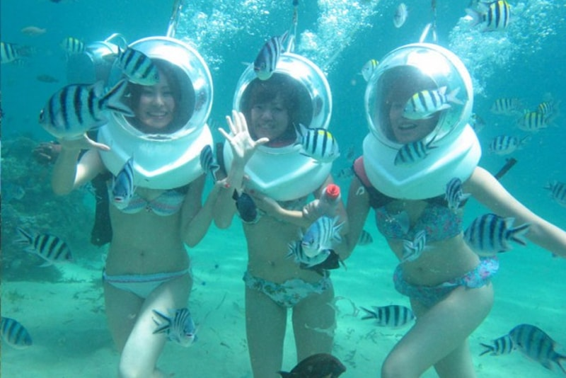 sea walking - water sports you must try