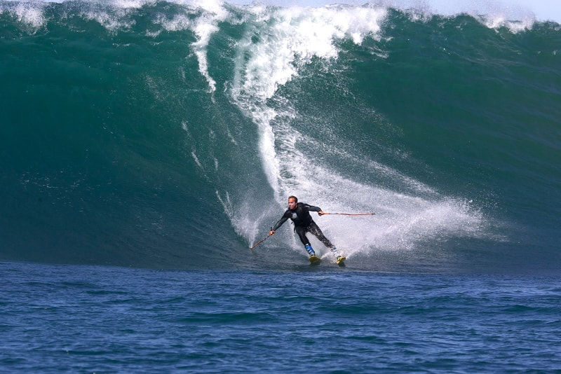 surf skiing - water sports you must try