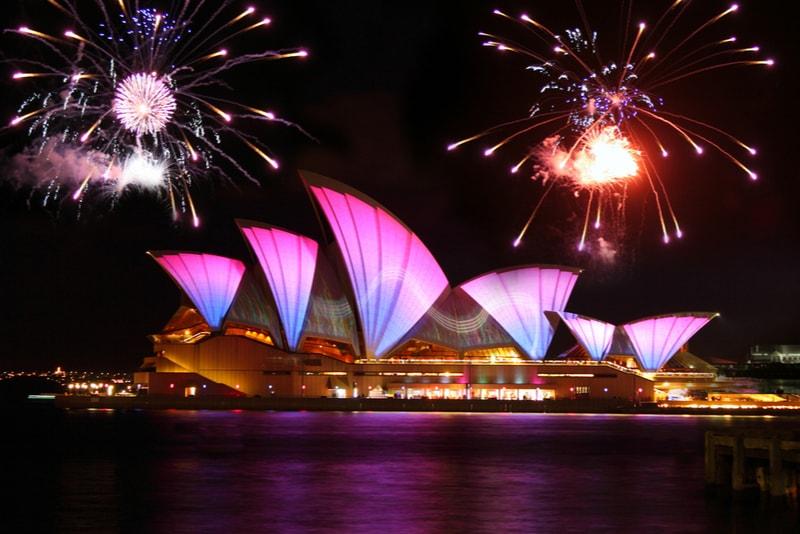 sydney-New Year's Fireworks