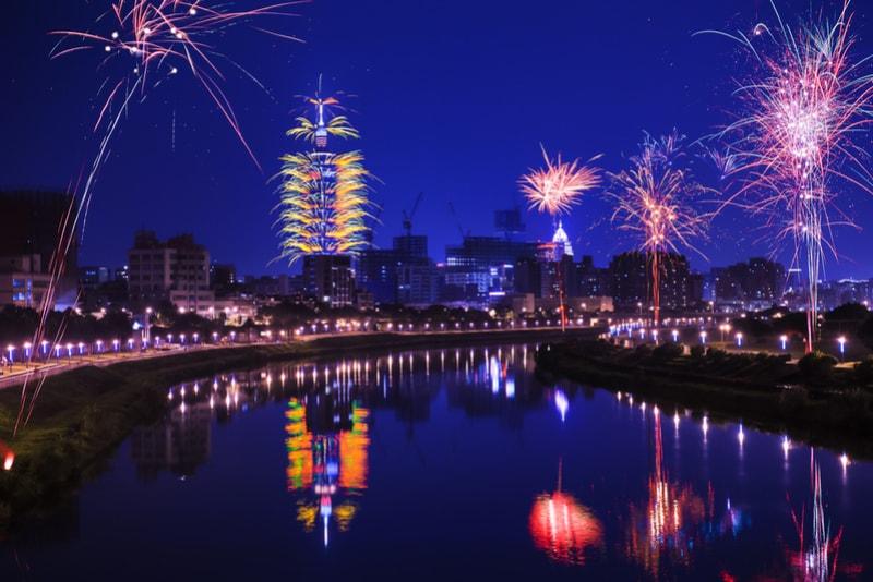 taipei-New Year's Fireworks