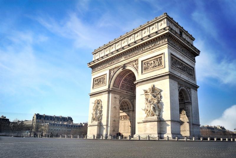 Arc de Triomphe / Champs Elysees - Ausflugsziele in Paris