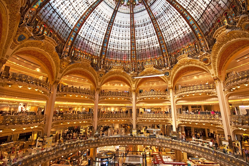 Galerie Lafayette - Ausflugsziele in Paris