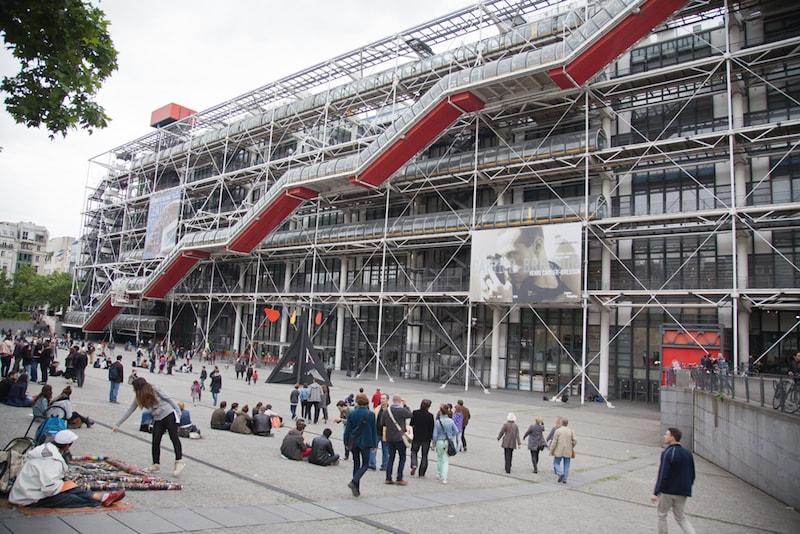 George Pompidou Centre - Sehenswürdigkeiten in Paris