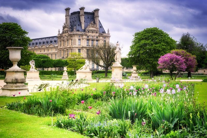 Jardins das Tulherias - Lugares e atrações em Paris