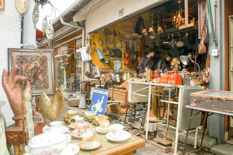 Clignancourt mercado de pulgas - lugares para visitar em Paris