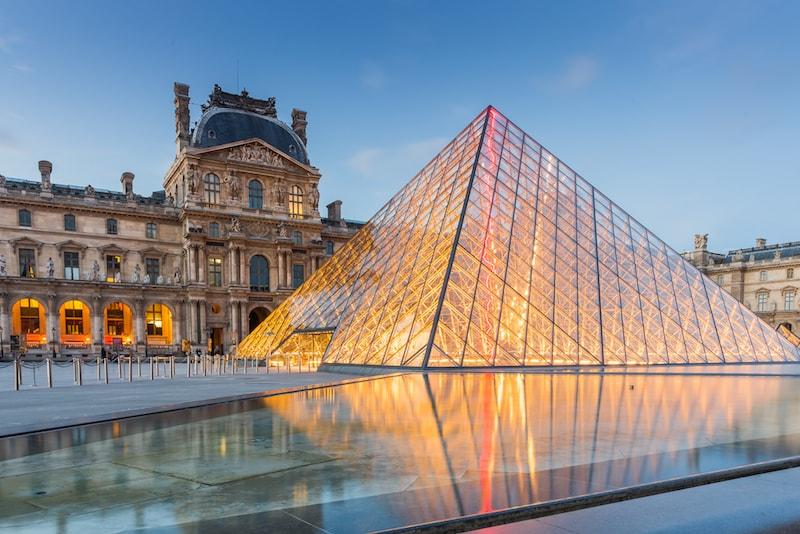 Louvres Museum - Sehenswürdigkeiten in Paris