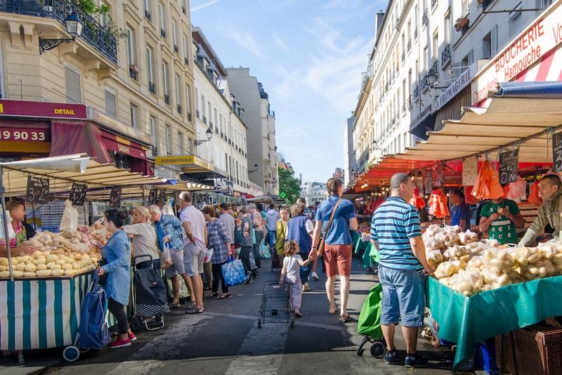 Bastille Market - Places to Visit in Paris