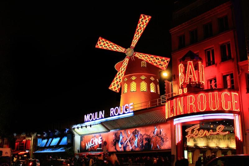 Moulin Rouge - Paris Sehenswürdigkeiten