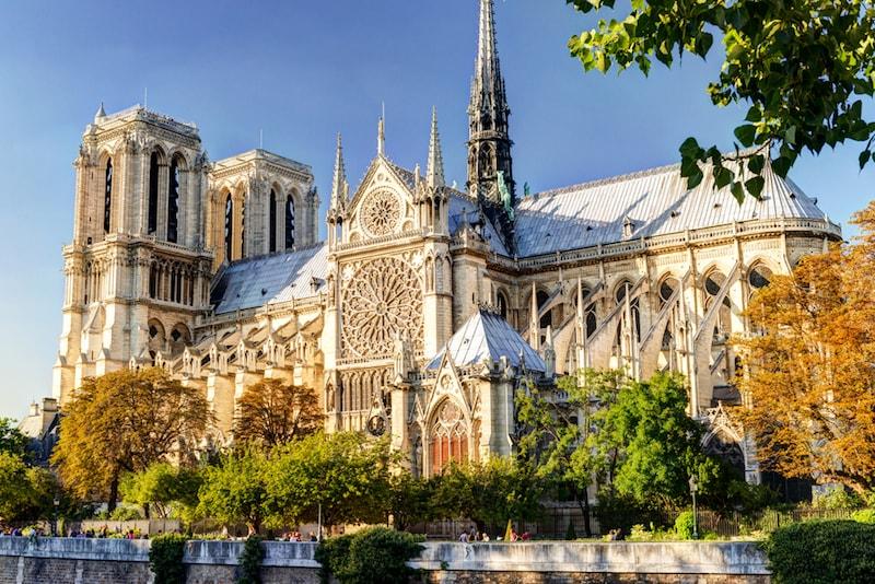 Notre Dame Of Paris - Sehenswürdigkeiten in Paris