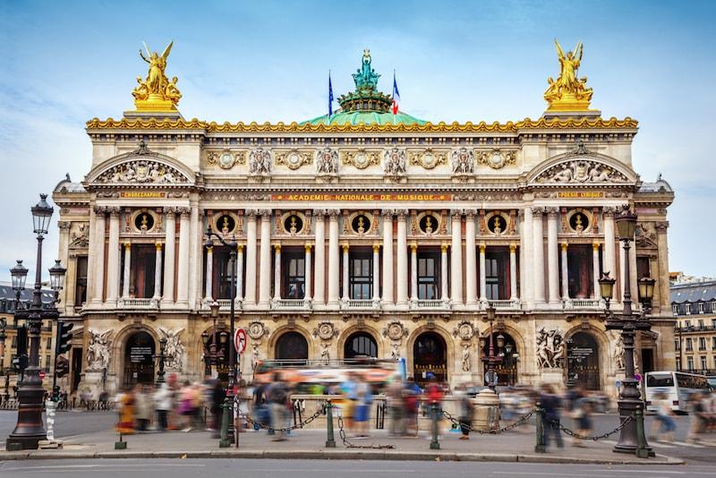 Palácio Garnier - Lugares e atrações em Paris