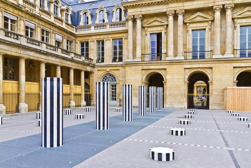 Palais Royal - Sehenswürdigkeiten in Paris