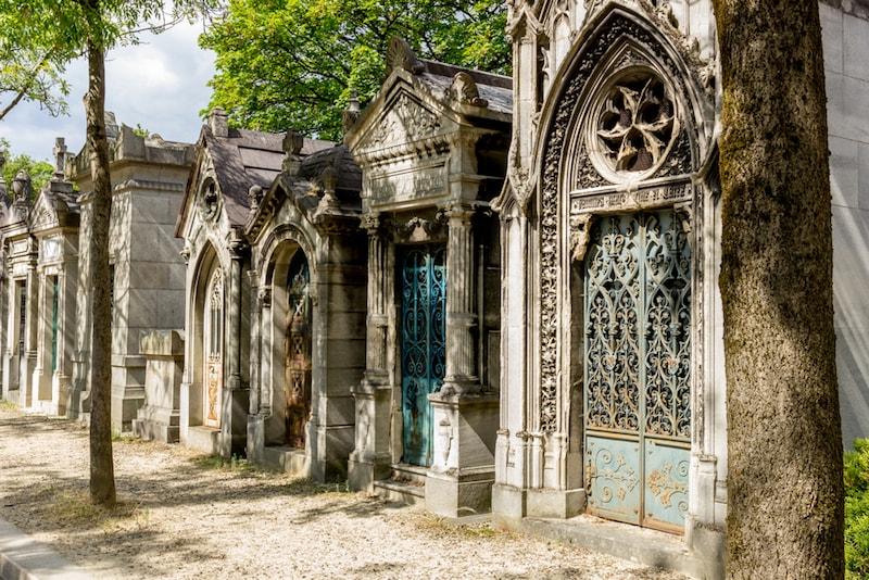 Cemitério Père Lachaise - Lugarese atrações em Paris