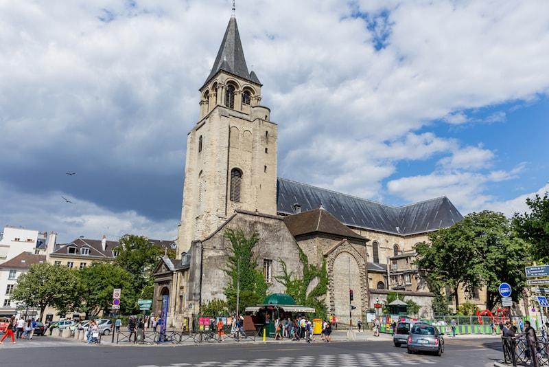 Saint Germain des Pres - Lugares e atrações em Paris