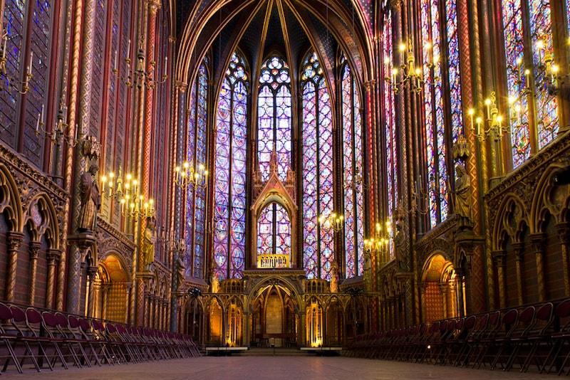Sainte Chapelle - Lugares e atrações em Paris