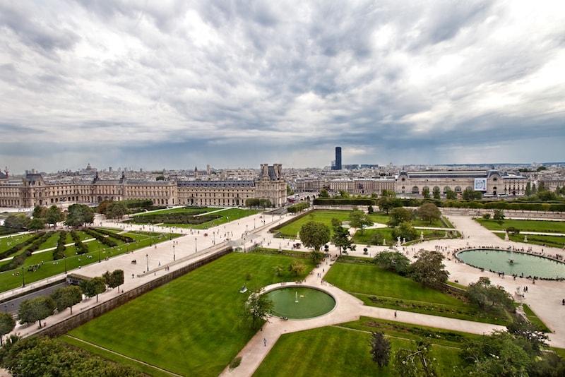 Tuileriengarten - Sehenswürdigkeiten in Paris