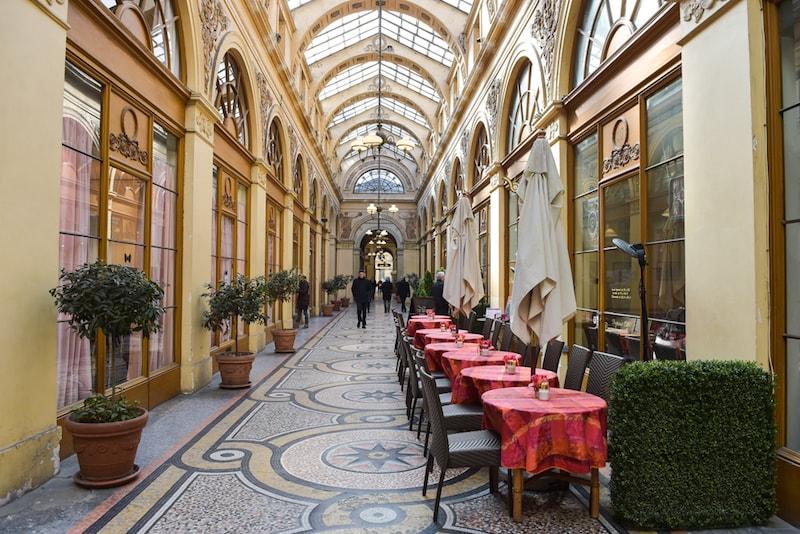 Vivienne Alley - Sehenswürdigkeiten in Paris