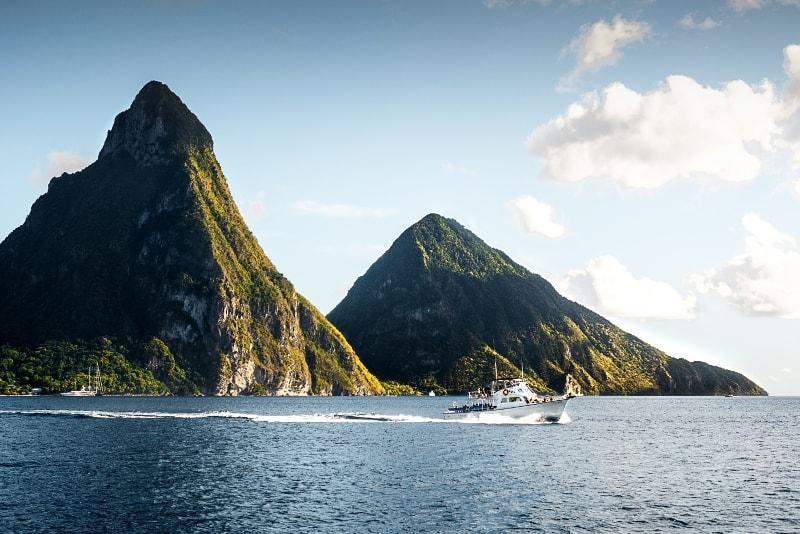 Île Sainte Lucie - Îles paradisiaques