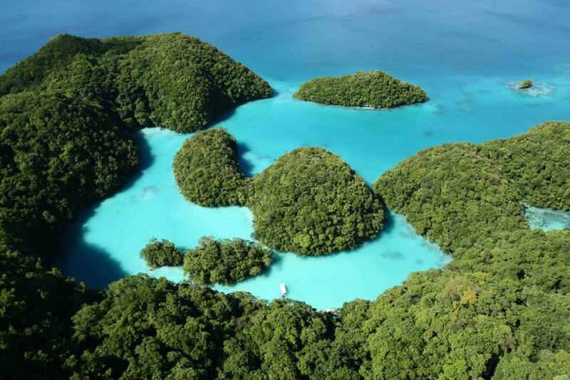 Îles Palau - Îles paradisiaques
