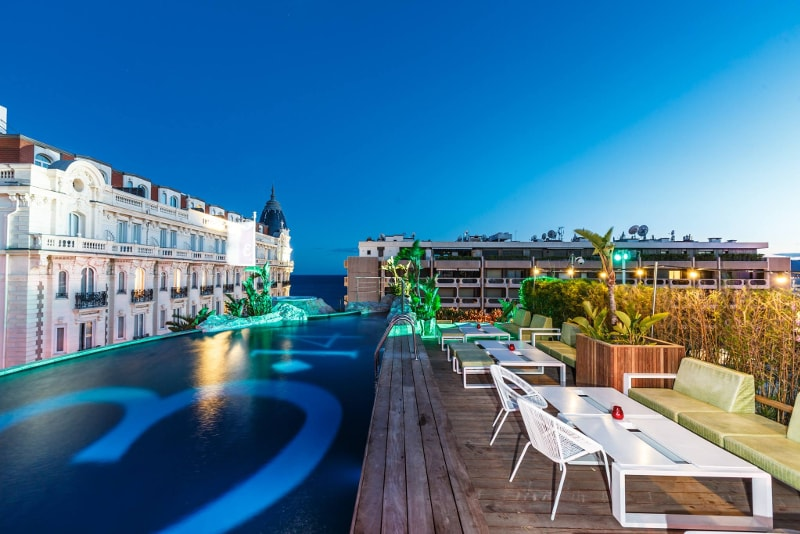 3.14 - Cannes - Best rooftops bars in the world