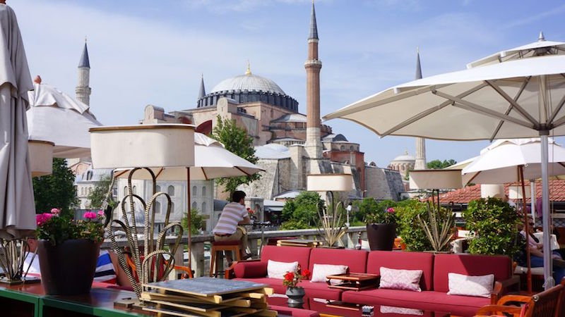 A'YA Lounge - Istambul - Best rooftops bars in the world
