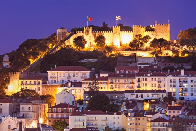 Castello di San Jorge - Cose da vedere a Lisboa
