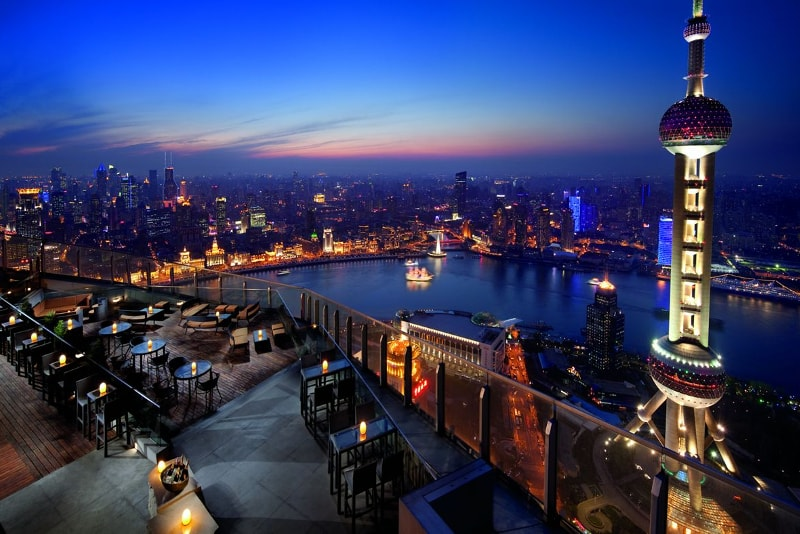 Flair – Shanghai - Best rooftops bars in the world