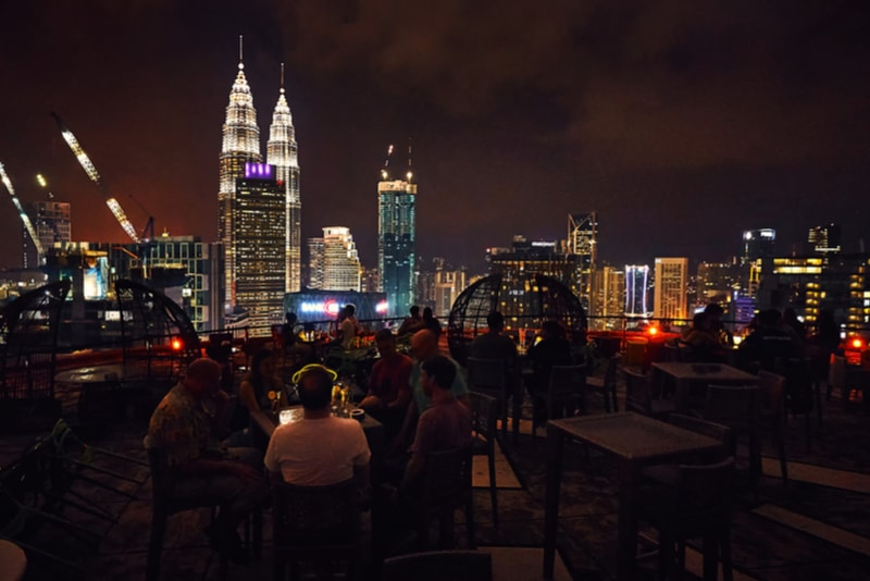 Heli Lounge Bar - Kuala Lumpur - Best rooftops bars in the world