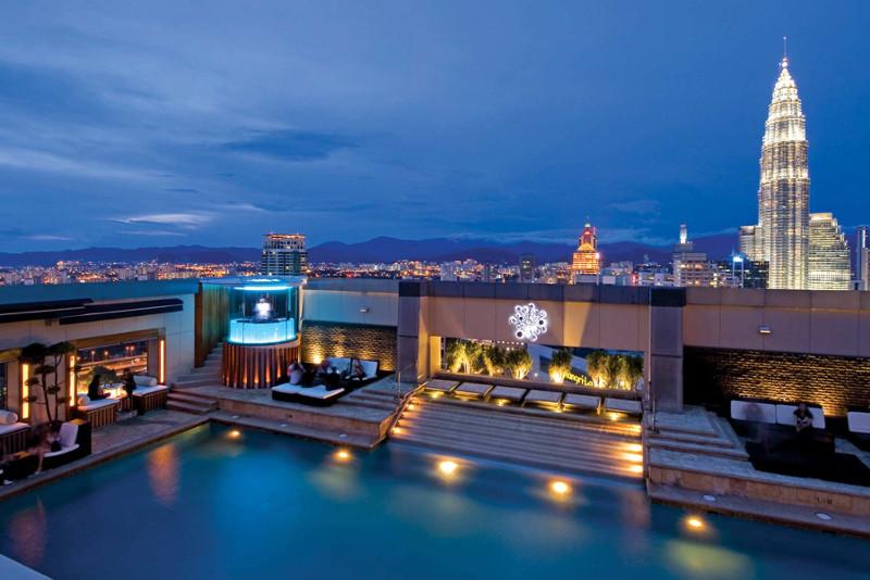 Le Luna Bar à Kuala Lumpur - Meilleurs Rooftops