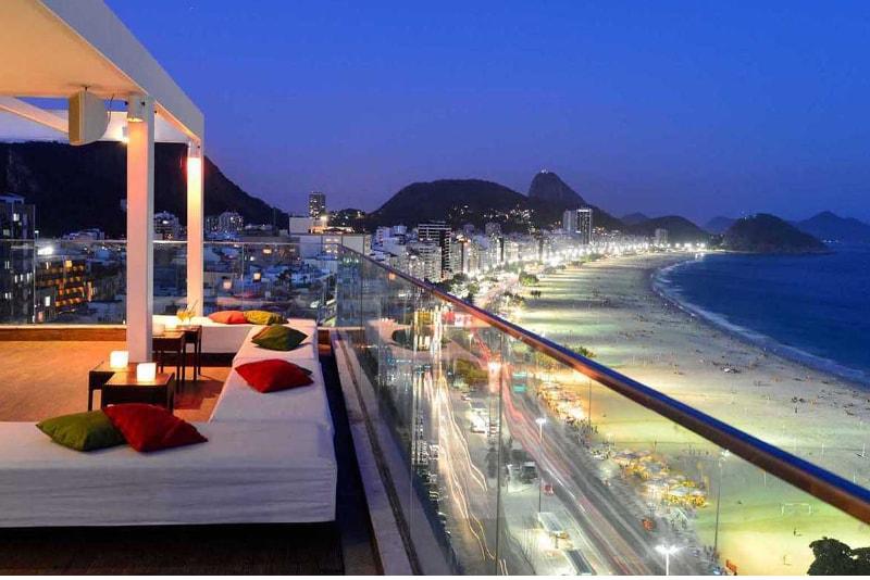 Le Pestana Rio Atlantica - Meilleurs Rooftops