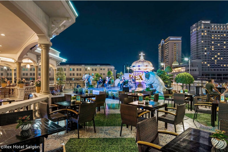 Le Rex Rooftop Garden - Meilleurs Rooftops