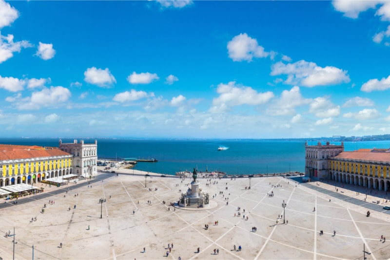 Praça do Comércio - Cose da vedere a Lisboa
