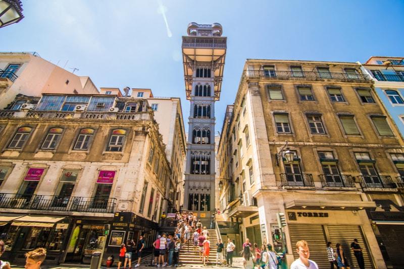 L'ascensore di Santa Justa - Cose da vedere a Lisboa