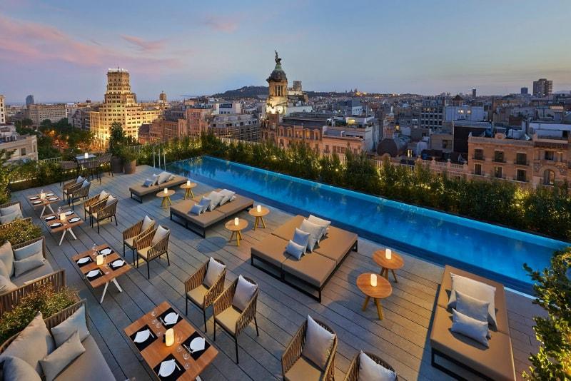 Terrat at the Mandarin Hotel Oriental - migliori rooftop