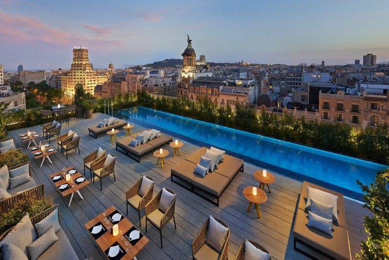 Terrat at the Mandarin Hotel Oriental - migliori rooftop