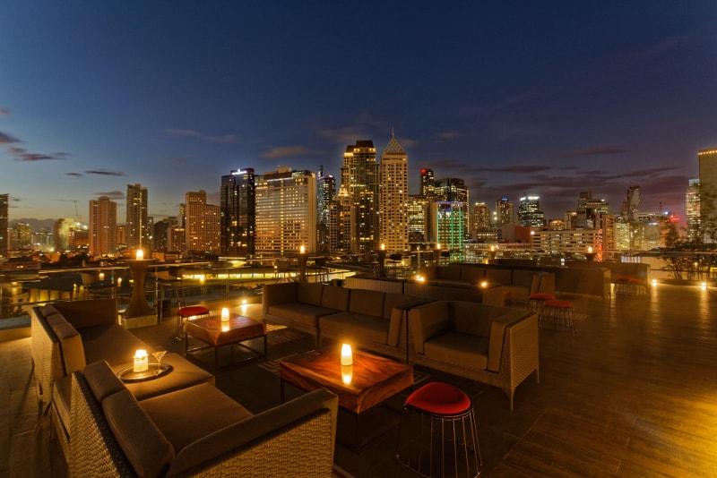 Mirèio Raffles - Manila - Best rooftops bars in the world