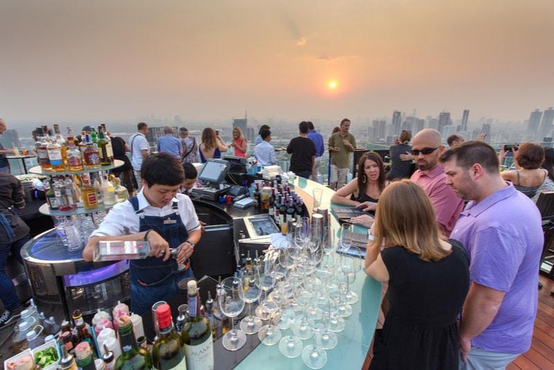 Octave Bar – Bangkok-  migliori rooftop