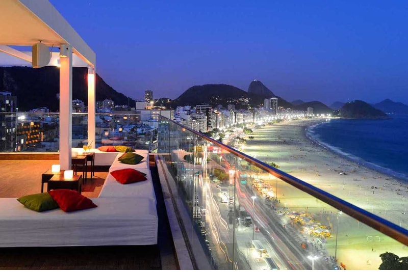 Pestana Rio Atlantica - Rio de Janeiro - Octave Bar - Bangkok - Best rooftops bars in the world