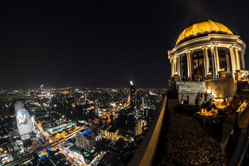 Lebua - Bangkok - Best rooftops bars in the world