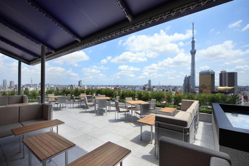 The Gate Hotel Kaminarimon à Tokyo - Meilleurs Rooftops