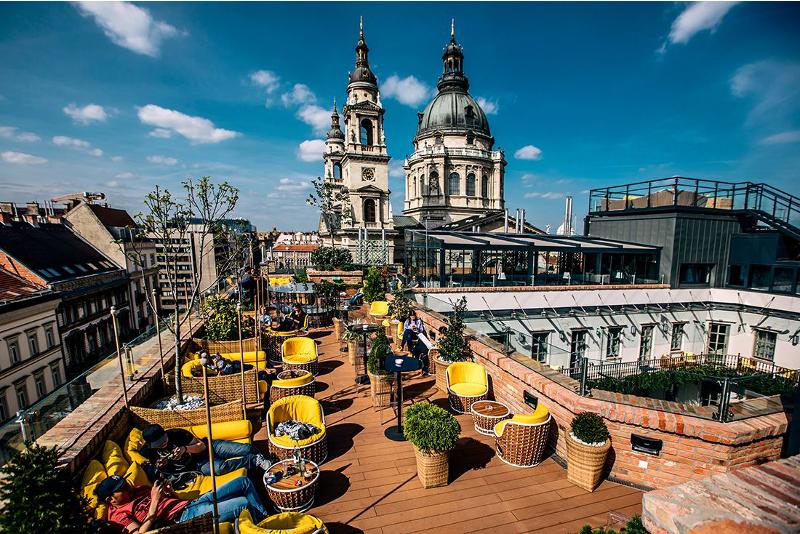 Le High Note Skybar à Budapest - Meilleurs Rooftops du Monde
