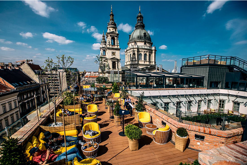 The High Note Skybar - Budapest - Best rooftops bars in the world