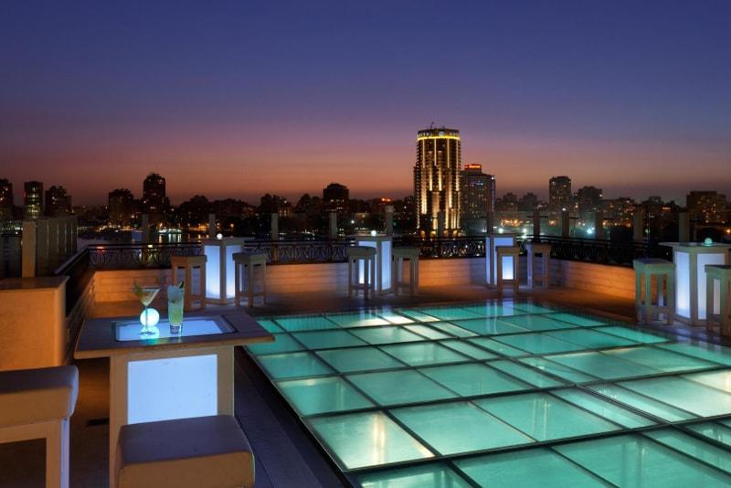 The Roof Pool Bar at Kempinski Nile Hotel-migliori rooftop