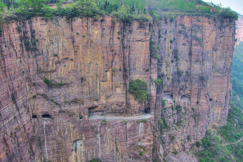 Guoliang Tunnel Road China - 14 Fantastic Road Trips you Wouldn't Want to Miss