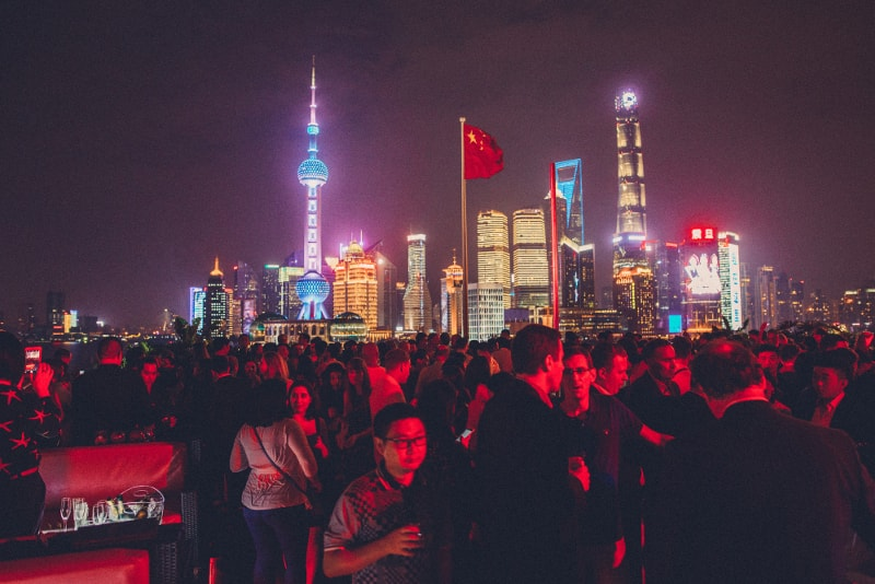 Bar Rouge - Shanghai - Best rooftops bars in the world