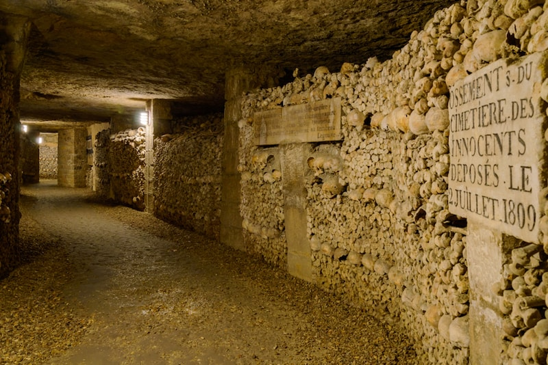 Les Catacombes - Choses à voir à Paris