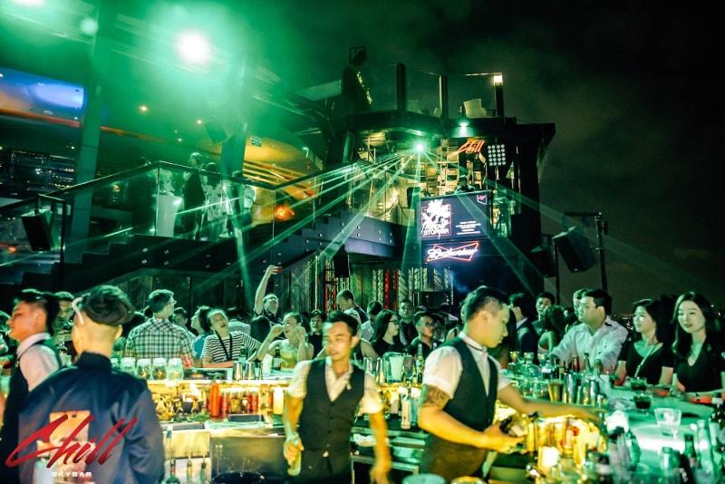 Chill Sky Bar- Meilleures rooftops