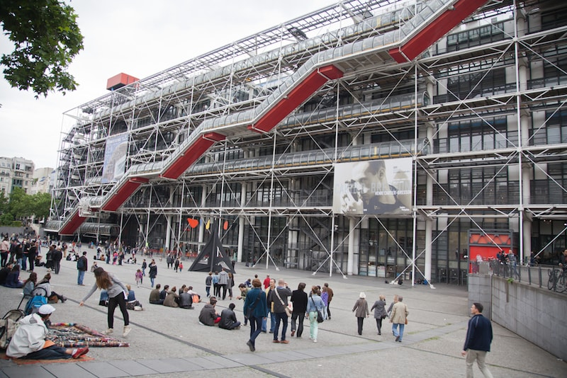 Centro Georges Pompidou - Cose da Vedere a Parigi